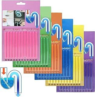 Flying swallow Sani Sticks Palillos para desagüe,Cleaning Sticks, Limpiador de desagües,Mantiene Las tuberías de desagüe limpias y Libres de atascamientos.(72PCS)