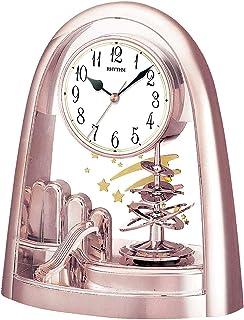 Rhythm 4SG607WB13 Contemporary Motion Clock, Rose Gold