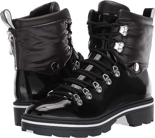 Black Leather/Nylon