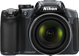 Nikon Coolpix P510 Digitalkamera (16 Megapixel, 42 fach opt. Zoom, 7,5 cm ( 3 Zoll) Display, GPS, bildstabilisiert) anthrazit