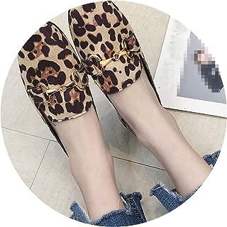 Women Flats Women Loafers Shoes Flock Woman Anti Slip Flat Shoes Women Casual Shoes,Yellow,38,US