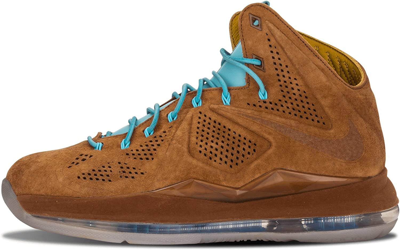 Nike Mens Lebron X EXT Suede QS Virginia Beach Mall Basketball Shoes Max 83% OFF Hazelnut