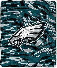 The Northwest Company Philadelphia Eagles NFL Quicksnap Raschel Blanket (All League Series) (50x60)