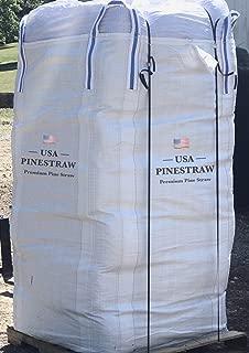 USA Pine Straw - New Bulk Bag | Premium Pine Needle Mulch | Covers 1300-1500 Sqft