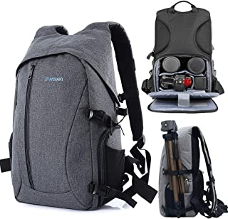 DSLR Camera Backpack Professional Camera Bag Waterproof Wear Resistant Large Capacity Multi-Pocket Anti-Theft Breathable T...