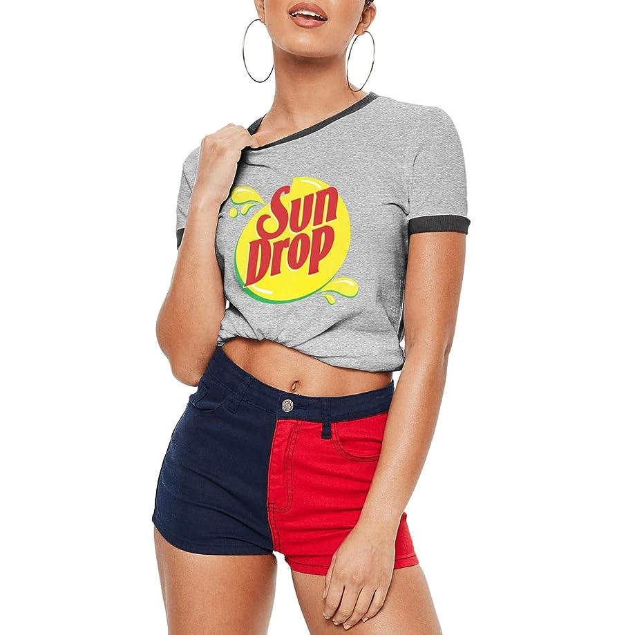 AINIJIAJ Women's Print Solid Drink Cookie Juice Corn chip Adult t Shirt
