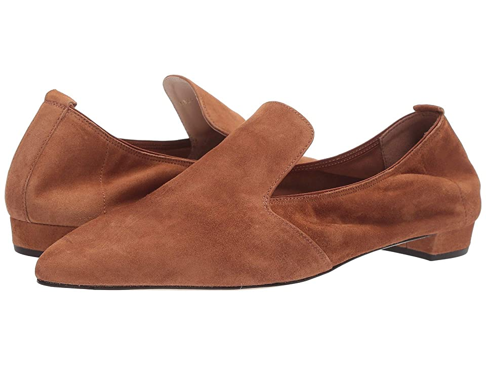 L.K. Bennett Raven Single Sole Pointed Flats (Tan) Women