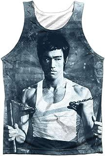 Bruce Lee Men's Nunchucks Mens Tank White
