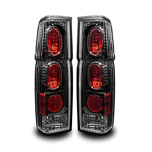 Winjet WJ20-0041-04 Altezza Style Tail Lights for 1986-1997 Nissan Hardbody