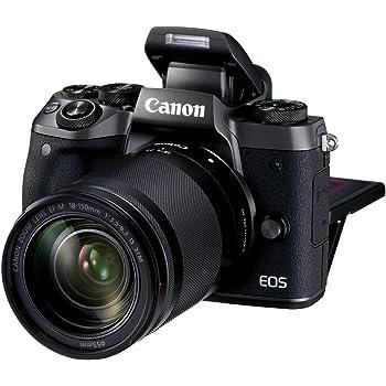 Canon EOS M5 - Kit de Cámara EVIL de 24.2 MP con objetivo EF-M 18-150
