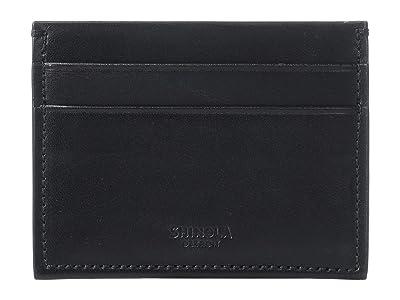Shinola Detroit Five-Pocket Card Case Harness (Black) Wallet