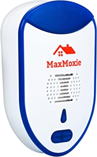 MaxMoxie Ultrasonic Pest Repeller Humane Mice Control Newest Electronic Insect Repellent..