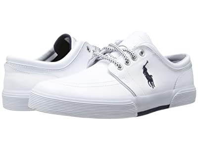 Polo Ralph Lauren Faxon Low (White Sport Leather) Men