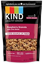 product image for KIND Healthy Grains Clusters, Raspberry with Chia Seeds Granola, Gluten Free, 11 Ounce Bags, 6 Count
