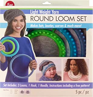 Boye Lt Wt Loom Round Set Light Weight Yarn