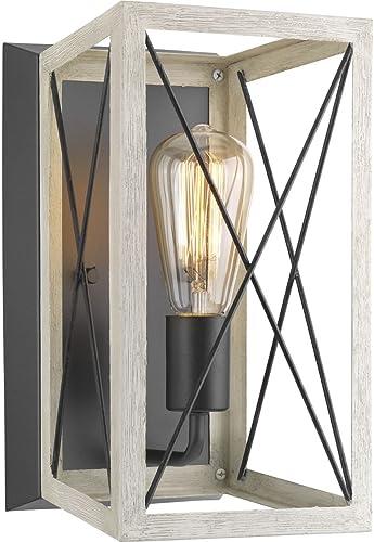 wholesale Progress Lighting P710012-143 Briarwood Graphite One-Light Wall Sconce, outlet sale outlet sale , Black sale