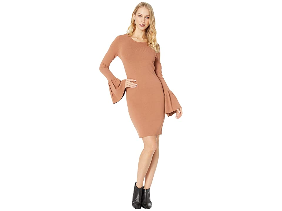 Bardot Arabella Dress (Chestnut) Women