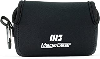 MegaGear MG1245 Canon PowerShot SX740 HS SX730 HS SX720 HS SX710 HS G16 G15 Estuche de cámara ultra ligero de neopreno – Negro