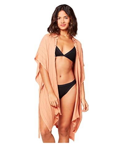 L*Space Anita Cover-Up Dress (Toasted) Women