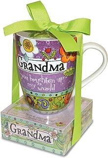 Divinity Boutique 23776 Ceramic Mug And And Memo Pad Grandma, One Size, Multicolor