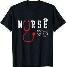 Nurse Est 2019 Shirt RN Graduation Gifts For Her or Him