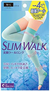 ピップ スリムウォーク 美脚クールロング ML 着圧 SLIMWALK