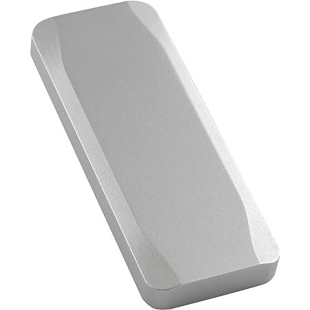 NVMe M.2 SSDに対応したオールアルミニウム製USB3.1 Gen2対応ケース TXIKI(ティキ(シルバー)