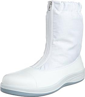 [ミドリ安全] 静電安全靴 クリーンルーム向け トゥキャップ付き ブーツタイプ SCR1200 フルCAP ハーフ メンズ