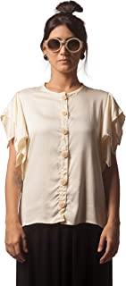 Camisa Manga Pássaro - Off White
