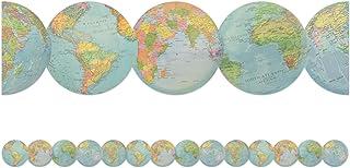 Teacher Created Resources Travel the Map Globes Die-Cut Border Trim