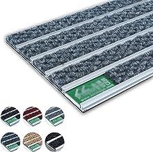 Doormat Duty Rubber Entrance Mat Aluminum Alloy Heavy Splice Scraper Hotel Bank Business Dust-Proof, 5 Colors (Color : D, ...