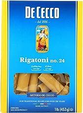 De Cecco Pasta Pasta, Rigatoni - (Case of 12 - 16 oz)