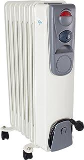 Suntec Heat Safe 1500 Calefactor, 600 W, Aluminio, Blanco