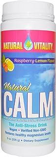 Natural Vitality Calm Raspberry/Lemon 8 oz ( Multi-Pack)