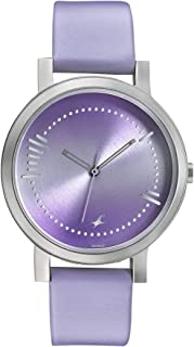 Fastrack Sunburn Analog Purple Dial Women's Watch-6213SL02