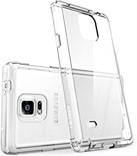 i-Blason Case Designed for Samsung Galaxy Note 4, [Scratch Resistant] Halo Series Hybrid Clear Case / Cover with TPU Bumper for Samsung Galaxy Note 4 [SM-N910S / SM-N910C] (Clear)