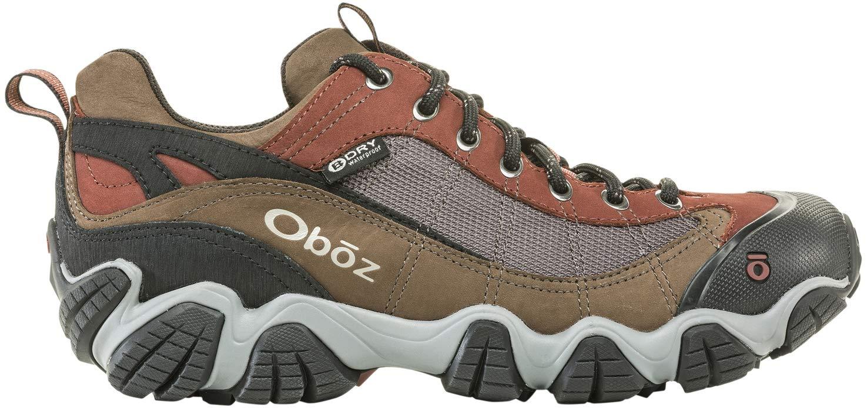 Oboz Firebrand II B-Dry Hiking Shoe - Men's Earth 12 Wide
