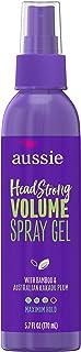 Aussie Headstrong Volume, Spray Gel 5.7 oz (Pack of 5)