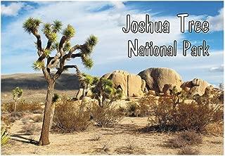 Joshua Tree National Park, California, CA, National Monument, Travel, Souvenir, Refrigerator, Locker Magnet 2 x 3 Fridge Magnet