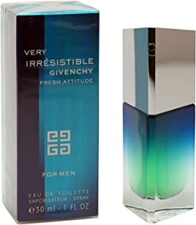 GIVENCHY Very Irresistible Fresh Attitude Eau De Toilette Spray for Men, 1 Ounce