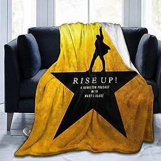 Ultra Soft Flannel Fleece Blanket Hamilton an American Musical Stylish Bedroom Living Room Sofa Warm Throw Blanket 50x40for Kids