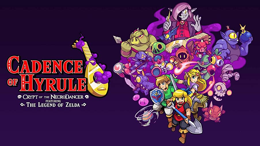Cadence of Hyrule: Crypt of the NecroDancer Featuring the Legend of Zelda - Nintendo Switch [Digital Code]