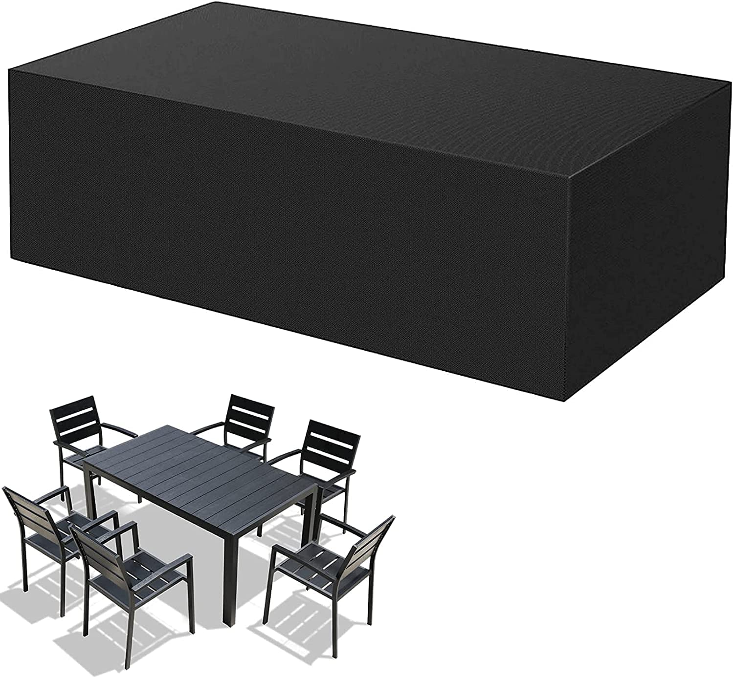 Year-end gift Garden Furniture Covers Outdoor Cover Waterproof Set Spring new work one after another