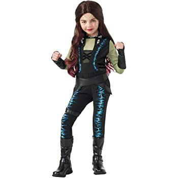 Guardians Of The Galaxy Marvel Deluxe Gamora Child Costume Large ...