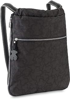 TOUS Caine Kaos N, Bolso mochila para Mujer, 33x38x6 cm (W x