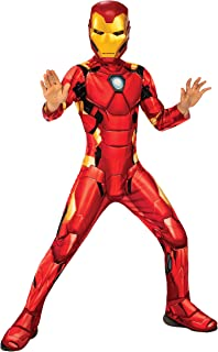 Rubies Official Marvel Avengers Iron Man Classic Childs Costume, Kids Superhero Fancy Dress, Red, S