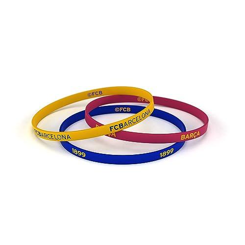 c81520808d4 Fútbol Club Barcelona Bracelet Classic Tricolor Junior for Women and Kids