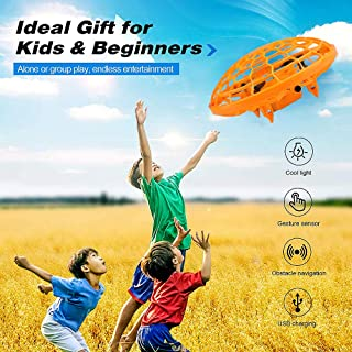Hand Operated Drones,2 Modes(Gesture and Remote),Hands Free Mini Drone Helicopter,High Endurance,15 LED Lights,More Cool a...