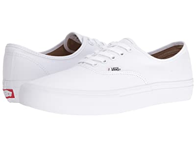 Vans Authentictm Pro (True White/True White) Skate Shoes