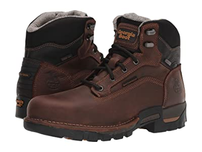 Georgia Boot 6 Eagle One Steel Toe Waterproof (Brown) Men